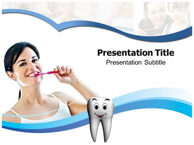 Tooth Brushing Technique PPT Presentation Template