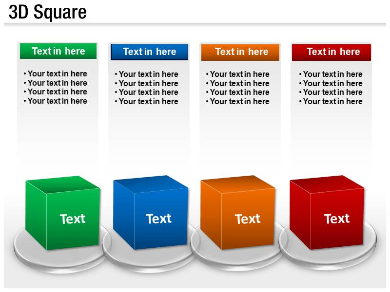 ... Powerpoint 3d Templates By Animated 3d Cube Powerpoint Template  Background Of Squares ...
