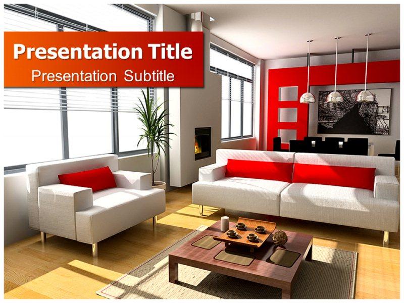 Modern interior design powerpoint templatesppt backgrounds slides download toneelgroepblik Images