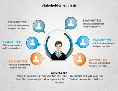 stakeholder analysis powerpoint templates and backgrounds, Presentation templates