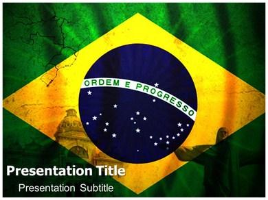 Geography of brazil powerpoint templates and backgrounds geography of brazil ppt presentation template toneelgroepblik Gallery