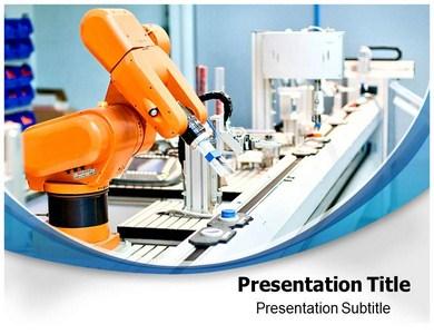 Automation robotics powerpoint templates and backgrounds automation robotics ppt presentation template toneelgroepblik Gallery