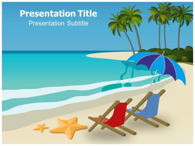 Beach games powerpoint templates and backgrounds download toneelgroepblik Choice Image