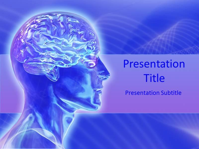 Attractive human brain powerpoint template background of structure download toneelgroepblik Image collections
