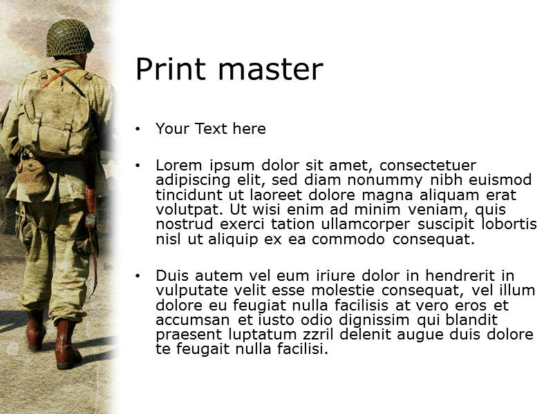 Soldier powerpoint template background of army military download toneelgroepblik Image collections