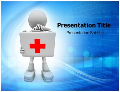 first aid kit powerpoint templates, ppt backgrounds, slides, Powerpoint templates
