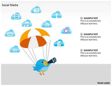SOCIAL MEDIA Definition PowerPoint Templates and Backgrounds