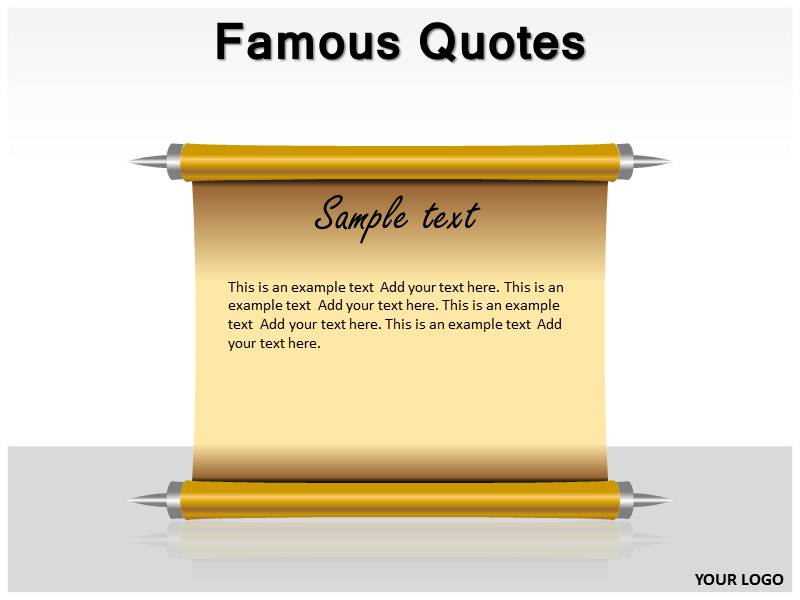 Famous quotes powerpoint template powerpoint templates and backgrounds download toneelgroepblik Images