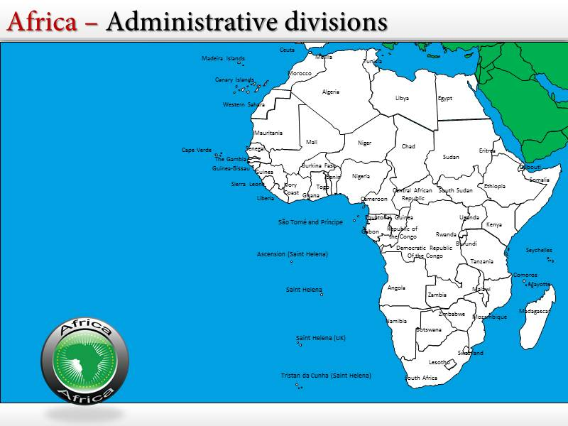 African powerpoint template bellacoola powerpoint templates map of africa gallery powerpoint template powerpoints templates toneelgroepblik Choice Image