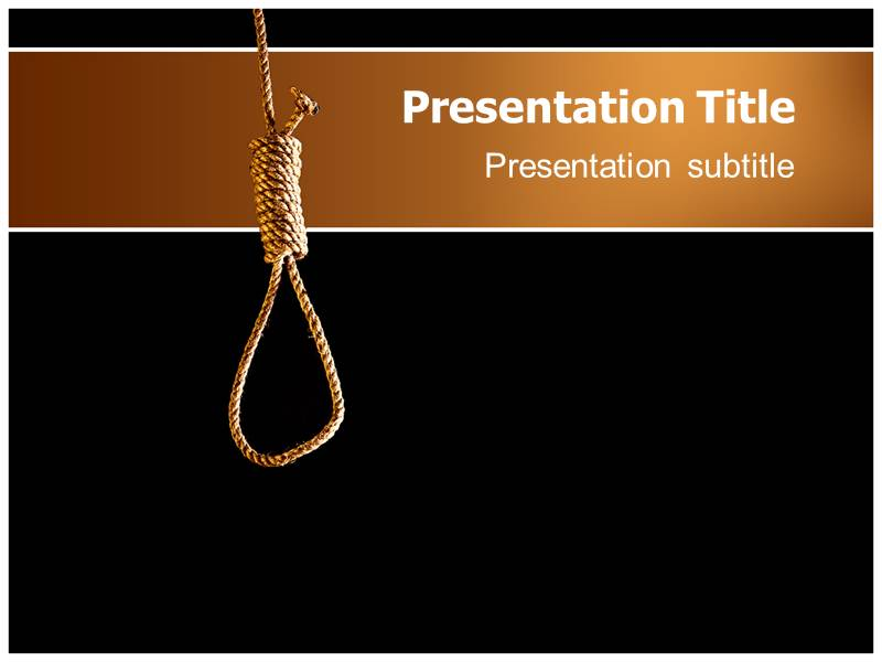Depression Powerpoint Template