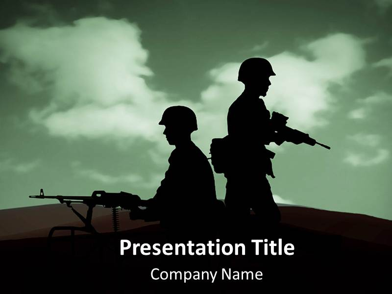 army war powerpoint templates, army war ppt backgrounds, slides, Modern powerpoint