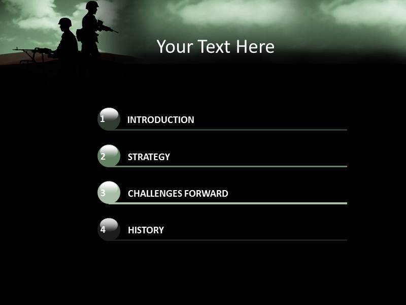 Army Powerpoint Template Gallery Template Design Free Download