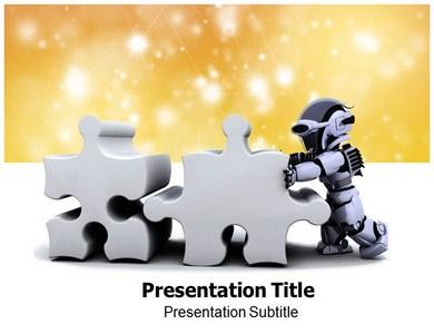 Robotics basics powerpoint templates and backgrounds robotics basics ppt presentation template toneelgroepblik Images