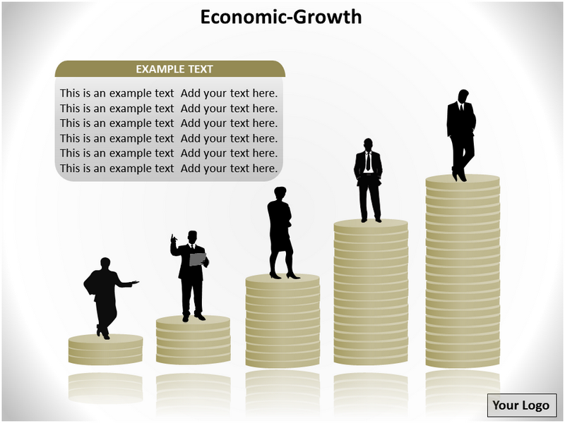 Economic growth powerpoint template powerpoint templates and download toneelgroepblik Image collections