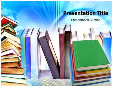 Bookstore powerpoint templates and backgrounds bookstore ppt presentation template toneelgroepblik Image collections