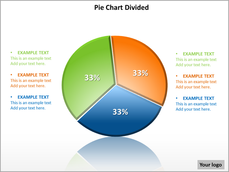 pie chart divided powerpoint template powerpoint templates and, Powerpoint templates