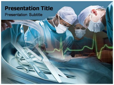 Cardiac Surgeon Powerpoint Templates