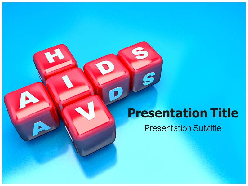 Hiv aids powerpoint templates presentation and background themes download toneelgroepblik Image collections
