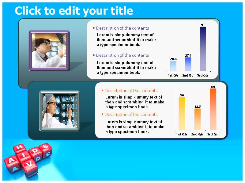 Hiv aids powerpoint templates presentation and background themes download toneelgroepblik Gallery