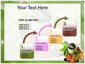 Herbs powerPoint themes
