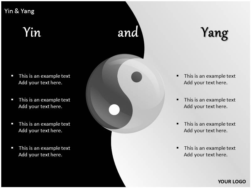 Yin and yang powerpoint templates and backgrounds download toneelgroepblik Gallery