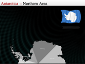 Map of Antarctica ppt templates