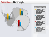 Map of Antarctica slides for powerpoint