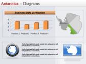 Map of Antarctica powerpoint backgrounds download
