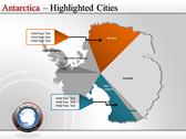 Map of Antarctica fullpowerpoint download