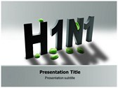 H1N1 powerPoint template