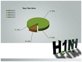 H1N1 power point background graphics