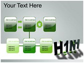 H1N1 powerpoint theme templates