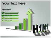 H1N1 ppt themes template