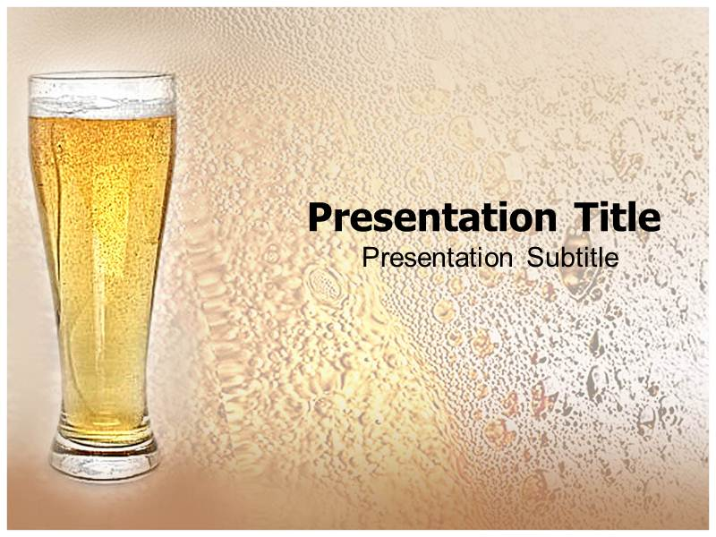Beer presentation template autodiet beer glass powerpoint templates and backgrounds template designer toneelgroepblik Choice Image