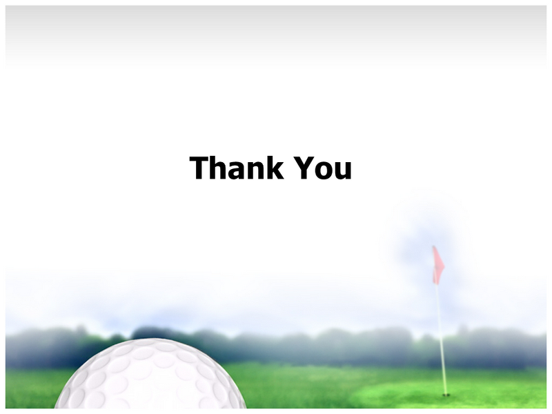 golf ball powerpoint templates and backgrounds, Modern powerpoint