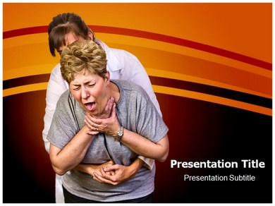 Choking PPT Presentation Template