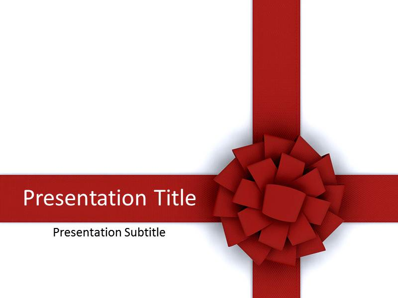 Ribbon Powerpoint Templates And Backgrounds