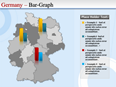 Map of Germany power point download