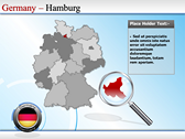 Map of Germany powerpoint slides download