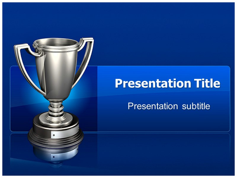 Trophies powerpoint templates and backgrounds download pronofoot35fo Images