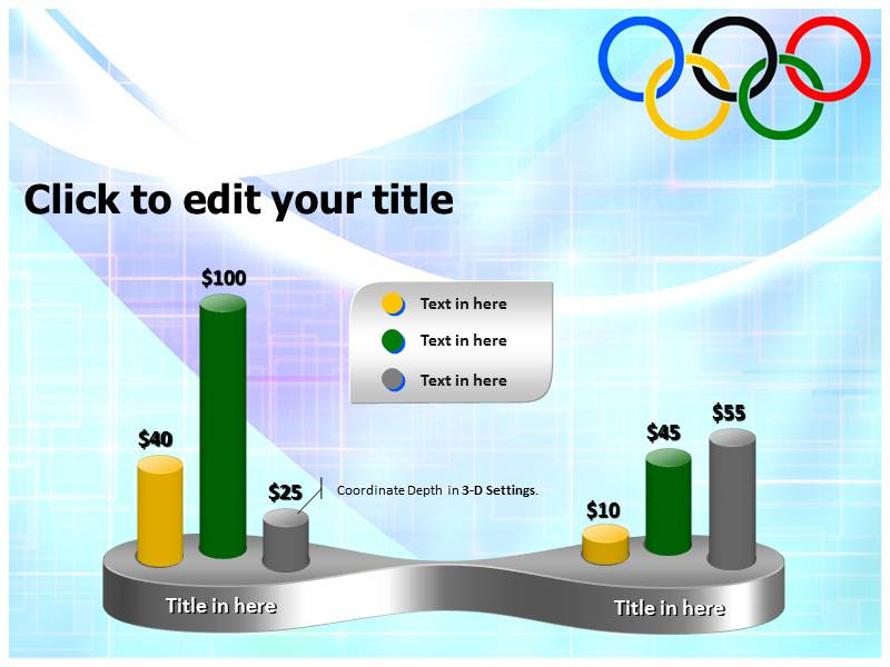 Olympic powerpoint template background of rings olympic rings download toneelgroepblik Image collections