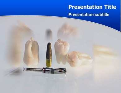 Powerpoint template represent the use of implant teeth by mark henry toneelgroepblik Image collections
