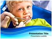 Dental Health powerPoint template