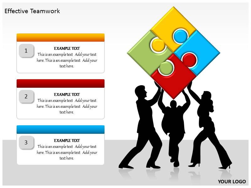 Effective teamwork powerpoint template background of management download toneelgroepblik Image collections