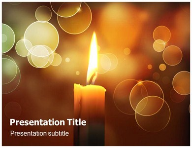 Candles powerpoint templates and backgrounds candles ppt presentation template toneelgroepblik Image collections