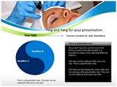 laser treatment powerPoint templates