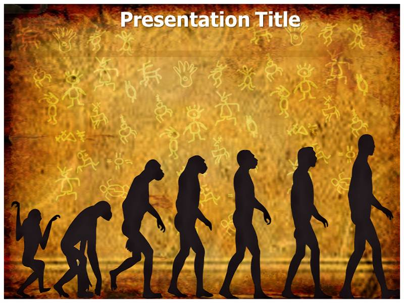 Evolution Animated Powerpoint Templates And Backgrounds