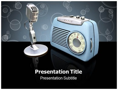 Radio PPT Presentation Template