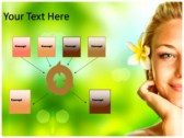 SPA Design background PowerPoint Templates