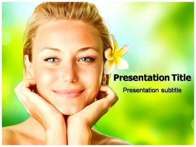SPA Design PPT Presentation Template
